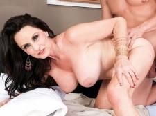 Rita copulates her son's big-dicked friend