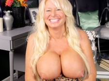 Getting To Know A Monster boobed, Hard-Nippled MILF