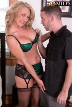 Cali comes to 50PlusMILFs.com and acquires her butt fucked