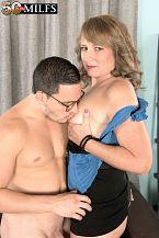 Catrina screws her best friend's son