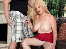 Young strapon and a creampie