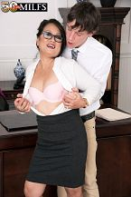 Maya gets ass-fucked by a 26-year-old