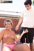 Constance, Fifty two, bonks a 23-year-old