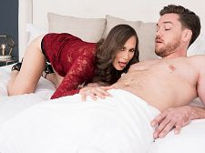 Lilly Screws Her Son's Big-dicked Friend